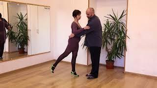 Обучение танго: основной шаг