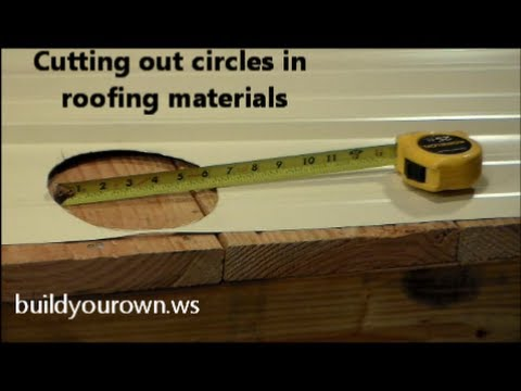 how to make a cut roof
