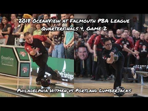 2018 PBA League Quarterfinals #4, Game 2 – Philadelphia Hitmen vs Portland Lumberjacks