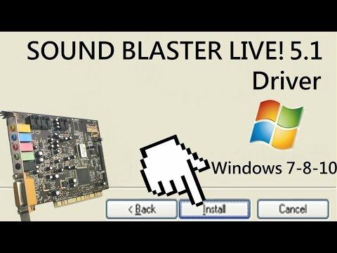 Sound Blaster Live 5.1 (1999) working in Windows 8.1!!