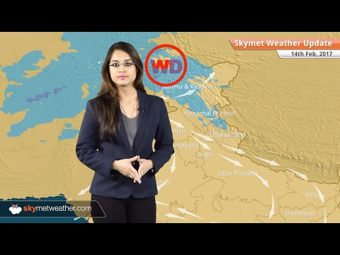 Weather Forecast for Feb 14: Snow in Kashmir, Himachal; Rain in TN, Kerala