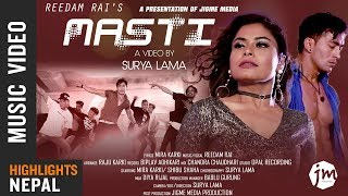 Masti - Reedam Rai Feat. Mira Karki & Sibu Shaha | New Nepali Song 2018/2075