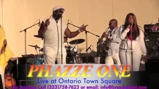 Phazze One Live! @ Ontario Town Square Concert serise  -  6-8-2016