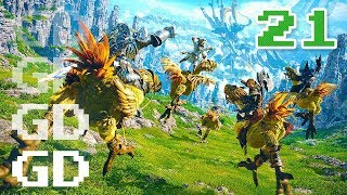 Final Fantasy XIV Gameplay Part 21 - To Guard a Guardian - FF14 Let