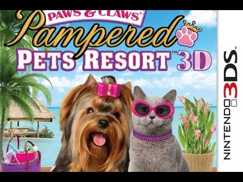 CGRundertow PAWS & CLAWS PAMPERED PETS RESORT 3D for Nintendo 3DS Video Game Review