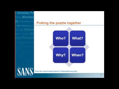 SANS DFIR Webcast - IP Theft Collecting Artifact Evidence from the Cloud and Mobile