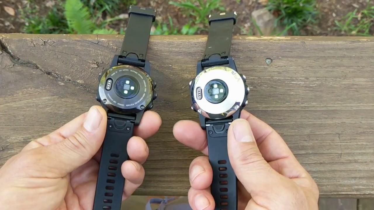 Garmin Fenix 5 Saphire Vs Standard