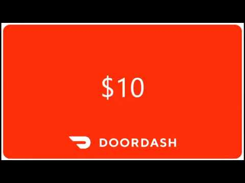GET $10 DOLLARS OFF ON YOUR FIRST PURCHAE ON DOORDASH