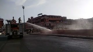 Jaipur: JMC carries out sanitization drive to battle Covid-19 spread