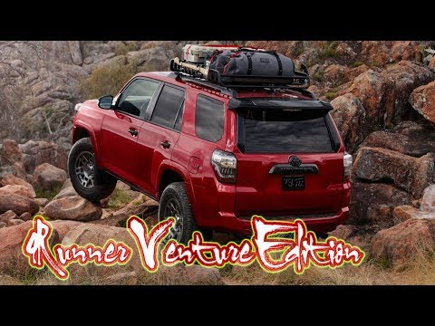 2020 Toyota 4Runner Venture Edition | Venture Edition is essentially a TRD Off-Road with...