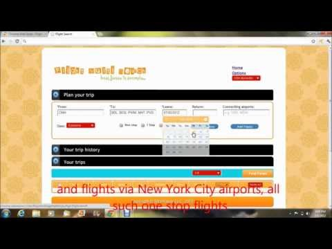 Find cheap flight tickets, search multiple flights at once.