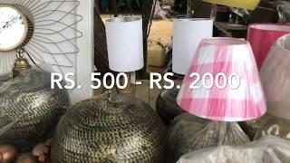 Banjara Market Haul Video | Home Decor & Antique Furnitures | Vlog #04