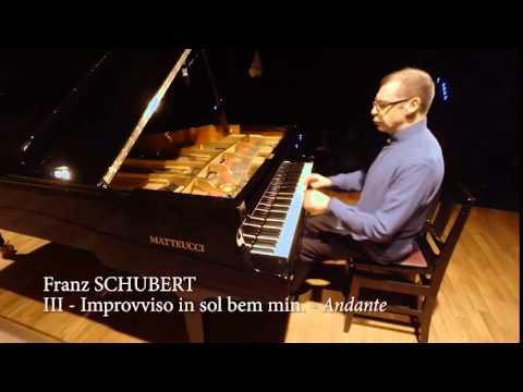 Massimo Coccia suona Schubert: 4 Improvvisi op 90