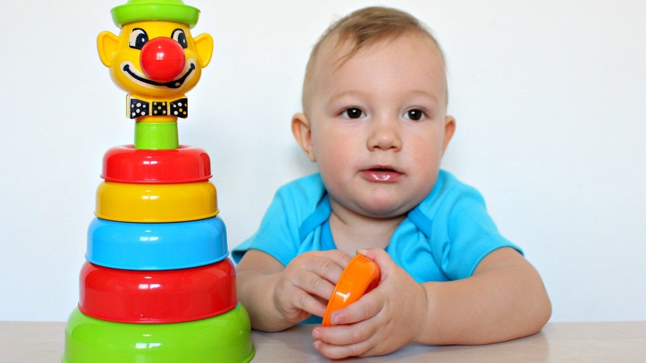 Educational Toys Nursery : Learn colors with educational toys for children johny