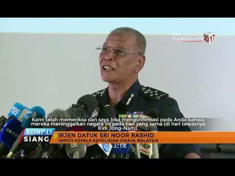 Polisi Malaysia Rilis Foto-Foto Tersangka Pembunuhan Kim Jong Nam