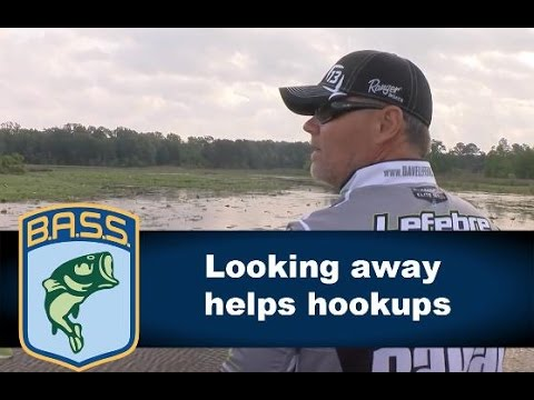 Why looking away helps you hook up when fishing topwater baits