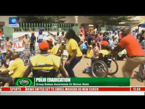 News Across Nigeria: Group Raises Awareness On Polio Eradication In Benue State Pt 1