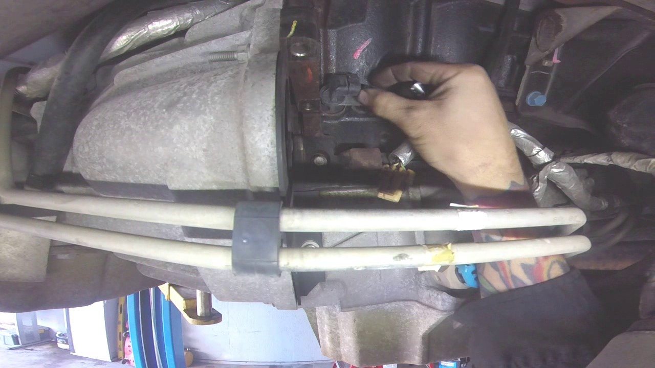 chevy gm 4 8 5 3 6 0 crank shaft posistion sensor ckp  [ 1280 x 720 Pixel ]