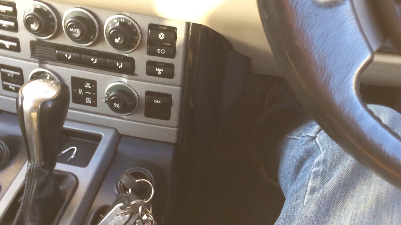 Range Rover L322 Ignition Key Stuck Wont Turn - Cheap Temporary Fix