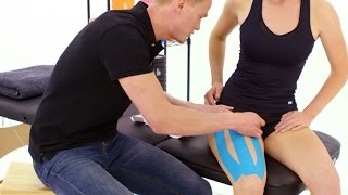 Taping guide for Thigh and Quad Pain