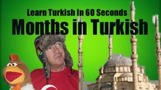 Turkish For Kids - Months In Turkish - Language lessons From Turkey