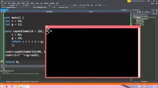 C++ 11 Lambda Functions