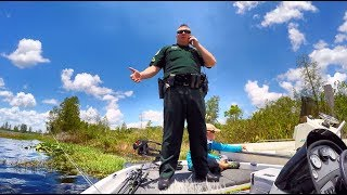 COPS GET on BOAT! We Stumbled Upon A Stolen Boat While Bass Fishing!?