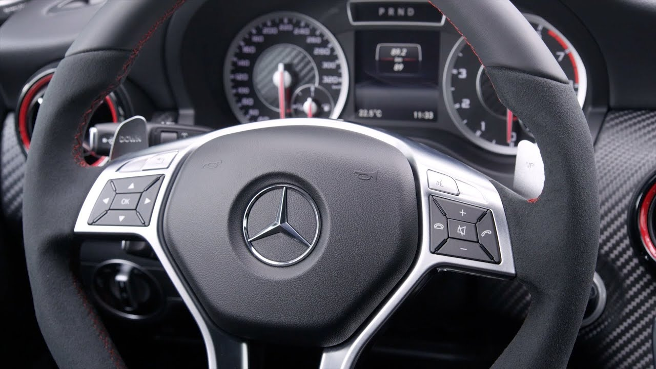 Mercedes A 45 Amg Interior Youtube