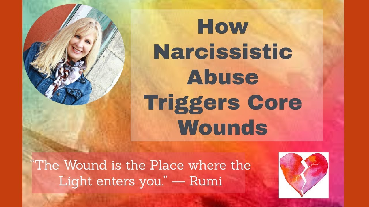 How Narcissistic Abuse Triggers Your Core Wounds – Kaleah