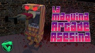 LA MÁQUINA ARCADE ASESINA - Hungry Arcade Machine [RAGE] | iTownGamePlay