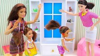 ЗЛАЯ МАМА или НЕ ТРОГАЙТЕ УШИ РЕБЁНКА! Мультик #Барби Куклы Игрушки Для детей IkuklaTV про Школу