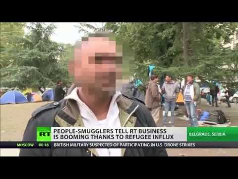 Migrant smugglers in Serbia give their take on EU refugee crisis