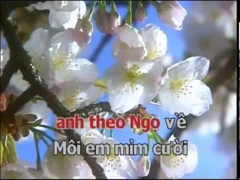 Ngay Xua Hoang Thi   Tone G Low - Karaoke