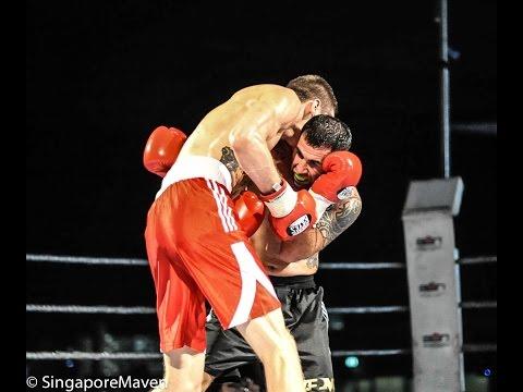 Ashot Mnatsakanian vs Will Chope (full fight) Singapore Professional Boxing