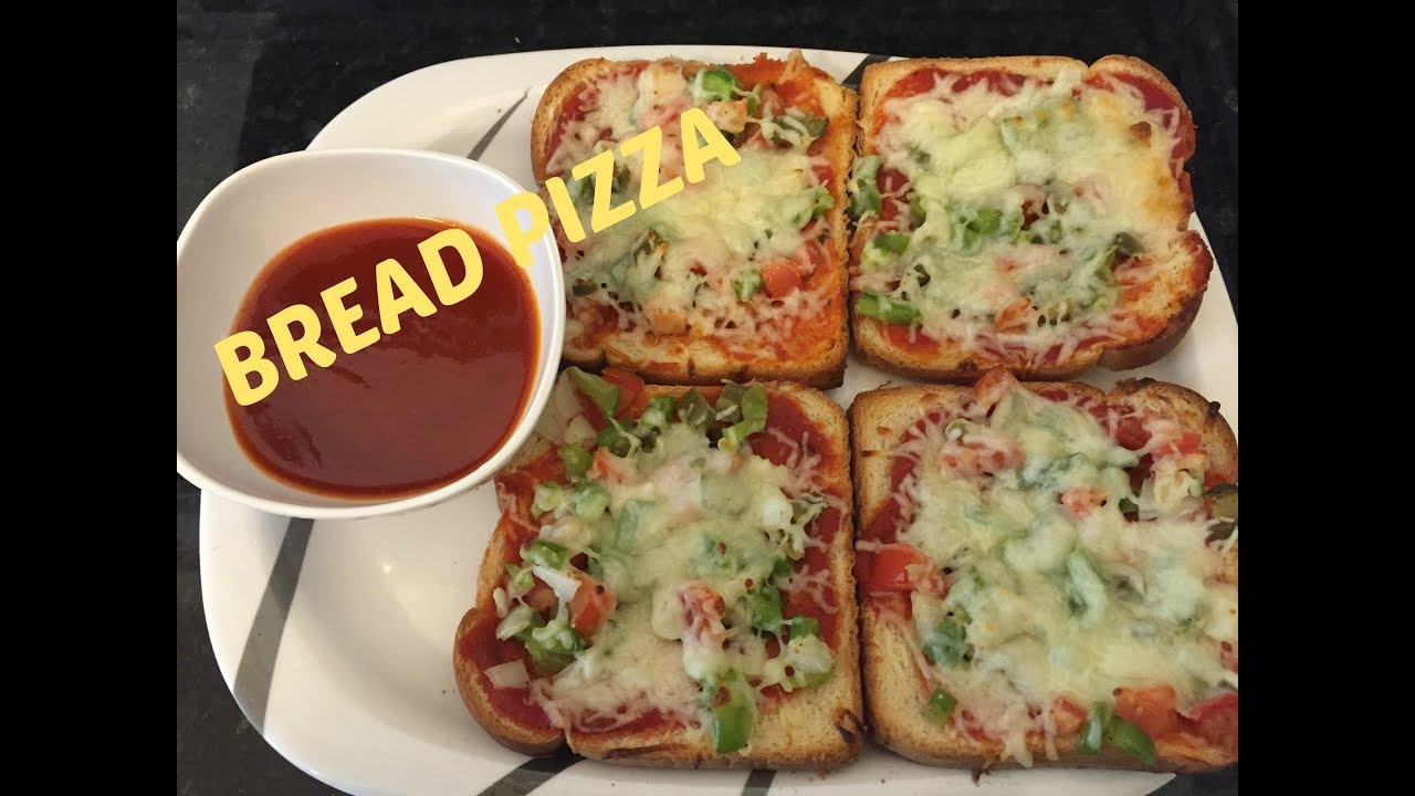 how to make bread pizza bread pizza recipe youtube. Black Bedroom Furniture Sets. Home Design Ideas