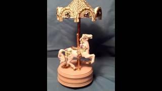 San Francisco Music Box Company Carousel Horse Tvh Watch Clips