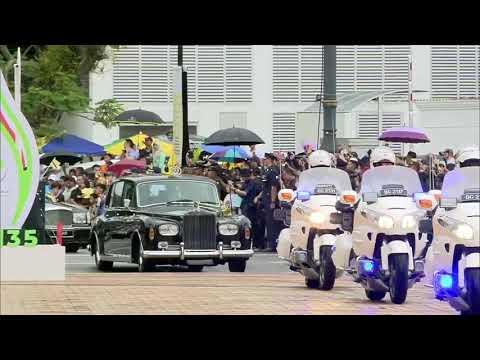 Official Welcome Ceremony for His Majesty Sultan Haji Hassanal Bolkiah 11/30/2019из YouTube · Длительность: 1 мин43 с