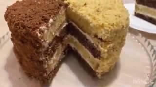 Торт сметанный за 5 минут