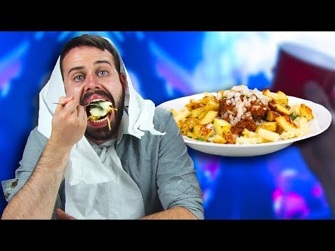 Thumbnail: Drunk People Taste Test Drunk Food From Around The World