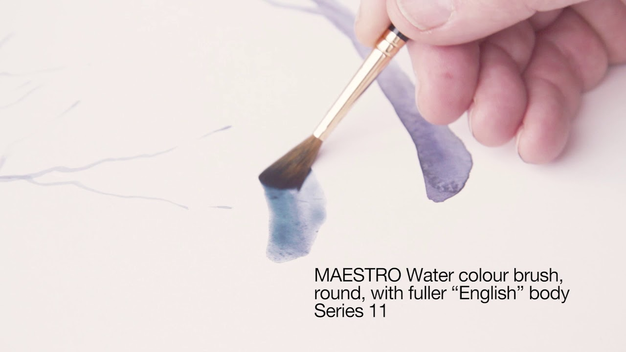 Water Brushes Maestro Tobolsky Sable Kolinsky Red Colour rxhsQtdCB