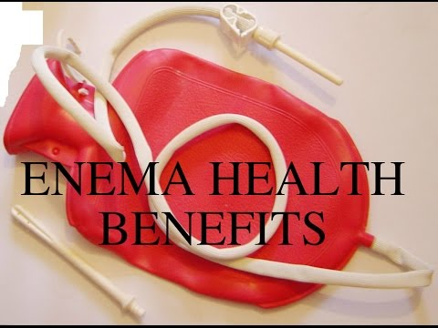 ENEMA HEALTH BENEFITS