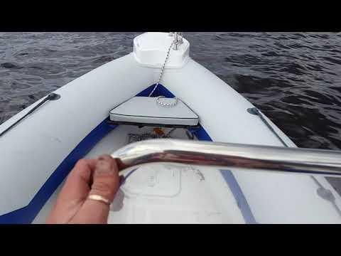 Первый выезд winboat 440 +sea-pro 9.9