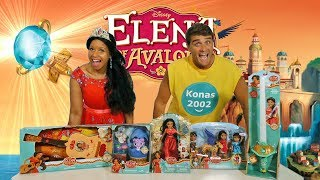 Elena of Avalor Toy Challenge !  || Toy Review || Konas2002