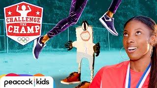Heroic Hurdle Challenge! (ft. Olympian Nia Ali) | CHALLENGE THE CHAMPS