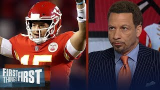 Mahomes has a chance to end up as the greatest of all time - Broussard | NFL | FIRST THINGS FIRST