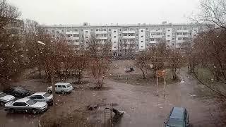 Весна в Темиртау Апрель