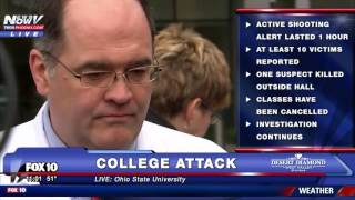 FNN: UPDATE - 8 Injured in Ohio State Attack - PRESS CONFERENCE