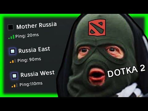 When RUSSIANS Play DOTA 2 In EUROPE