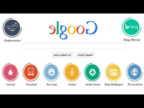 Google Mirror - I'm elgooG -