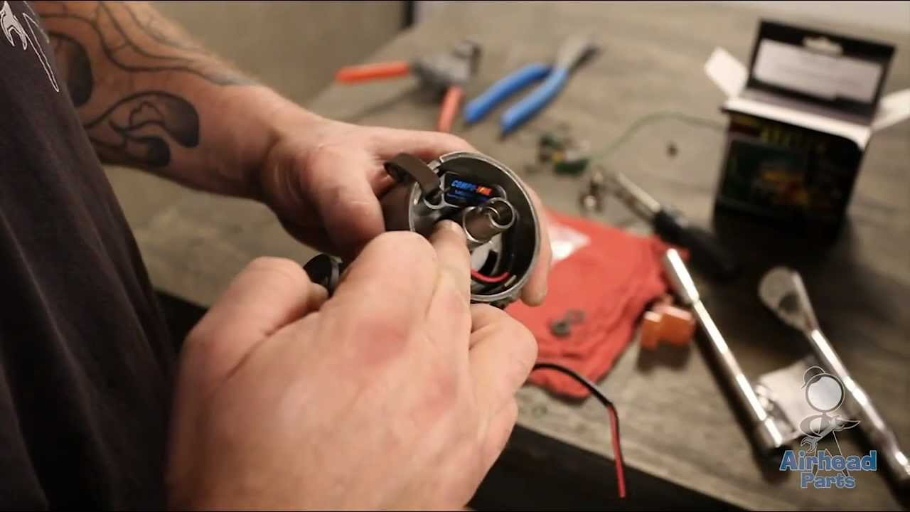 small resolution of how to install compufire ignition for vw in a 009 distributor by airhead parts youtube